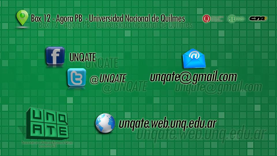 UNQATE-Contacto